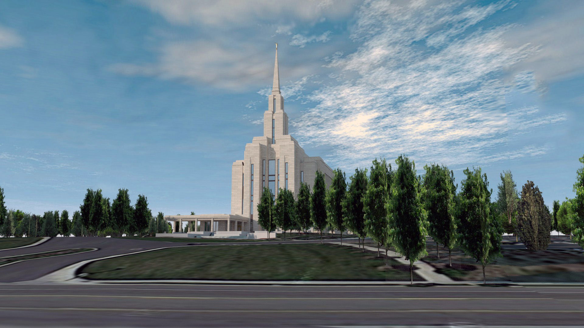 Oquirrrh Mountain Utah Temple