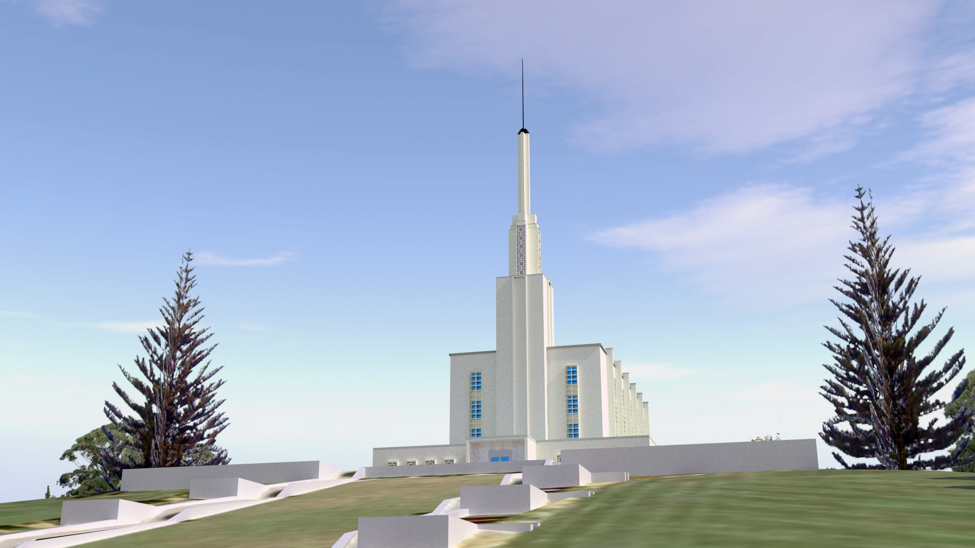 Hamilton New Zealand Temple image