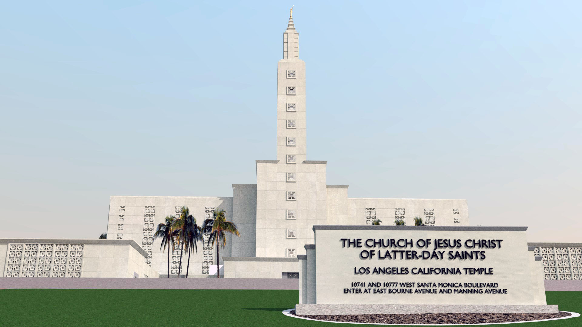 Los Angeles California Temple image