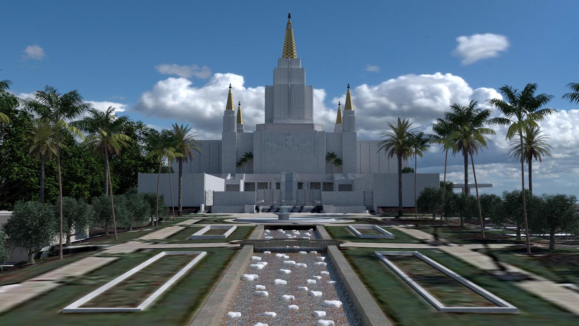 Oakland California temple image