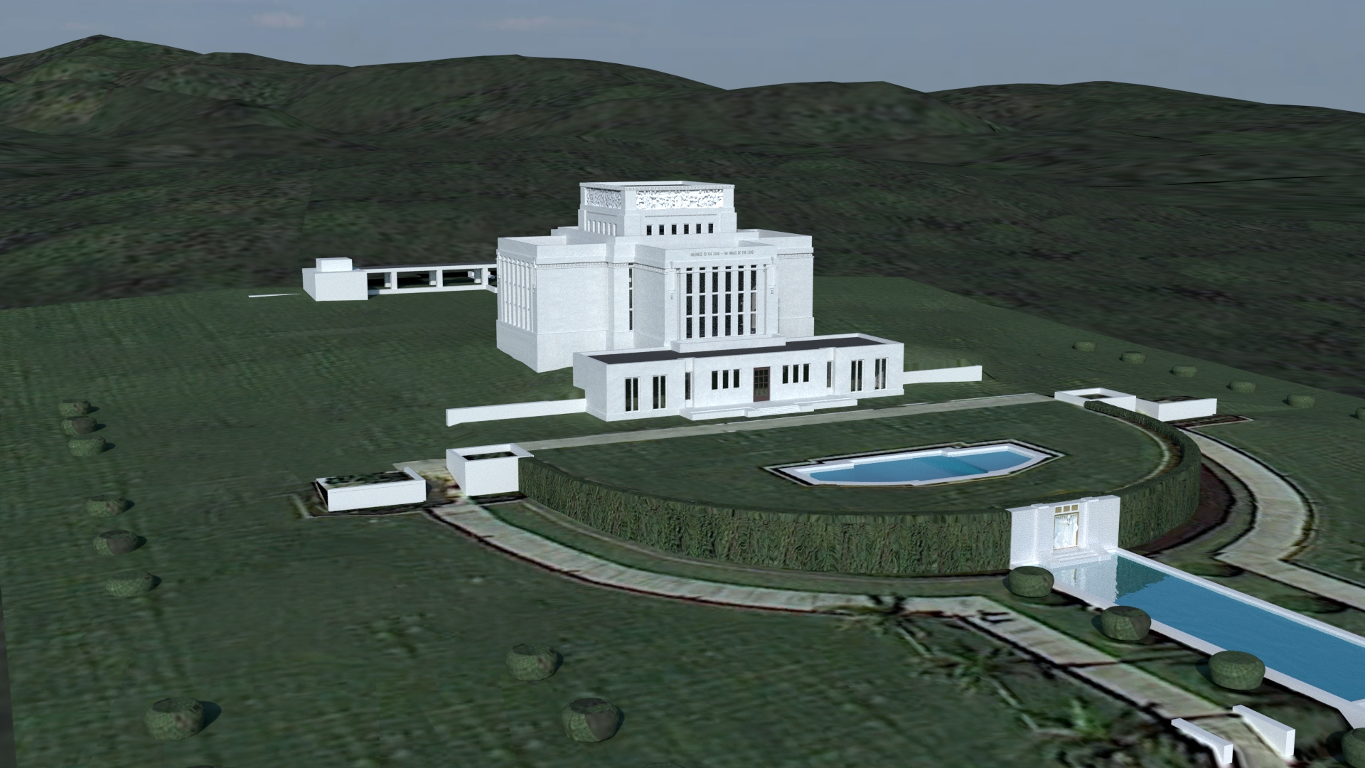 Laie Hawaii Temple image 1919