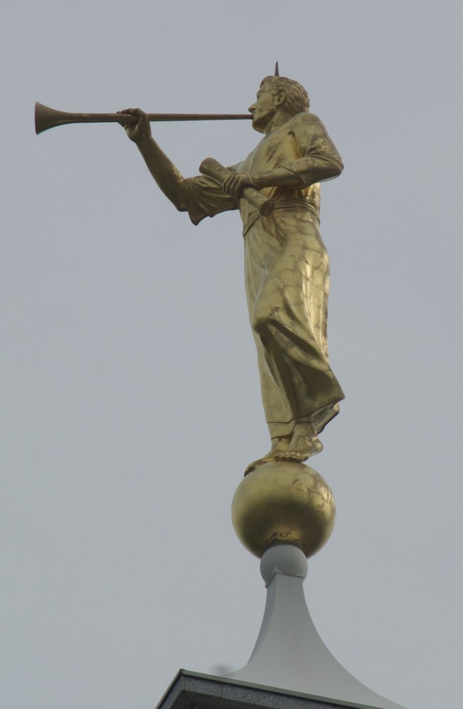 LaVar Walgren's Moroni, Bismarck North Dakota (Photogent.com)