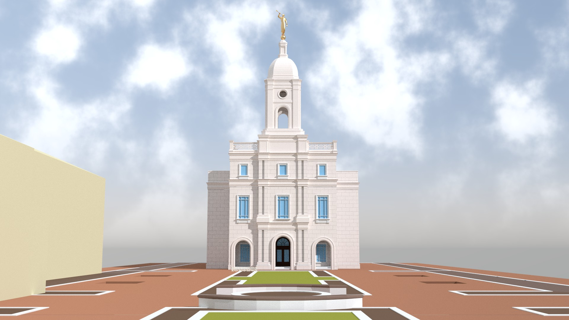 Barranquilla Columbia Temple early details
