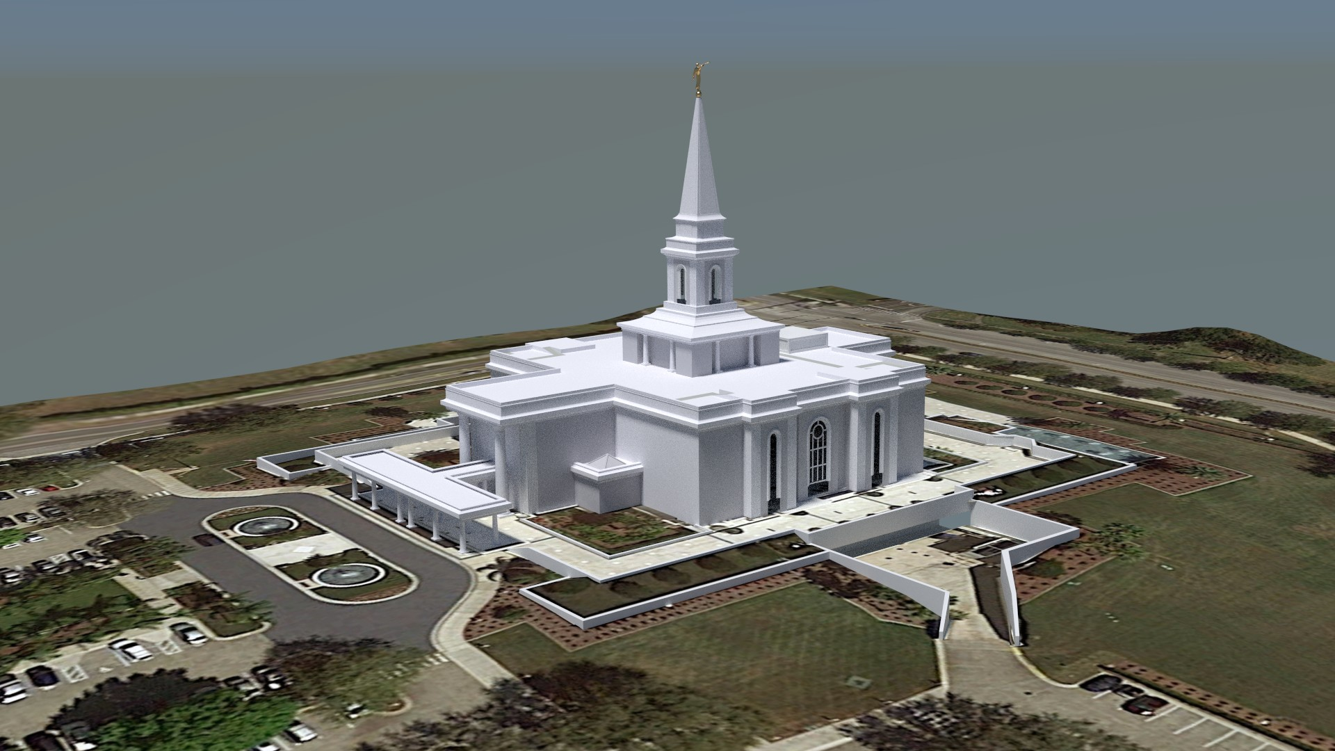 Orlando Florida Temple Early2