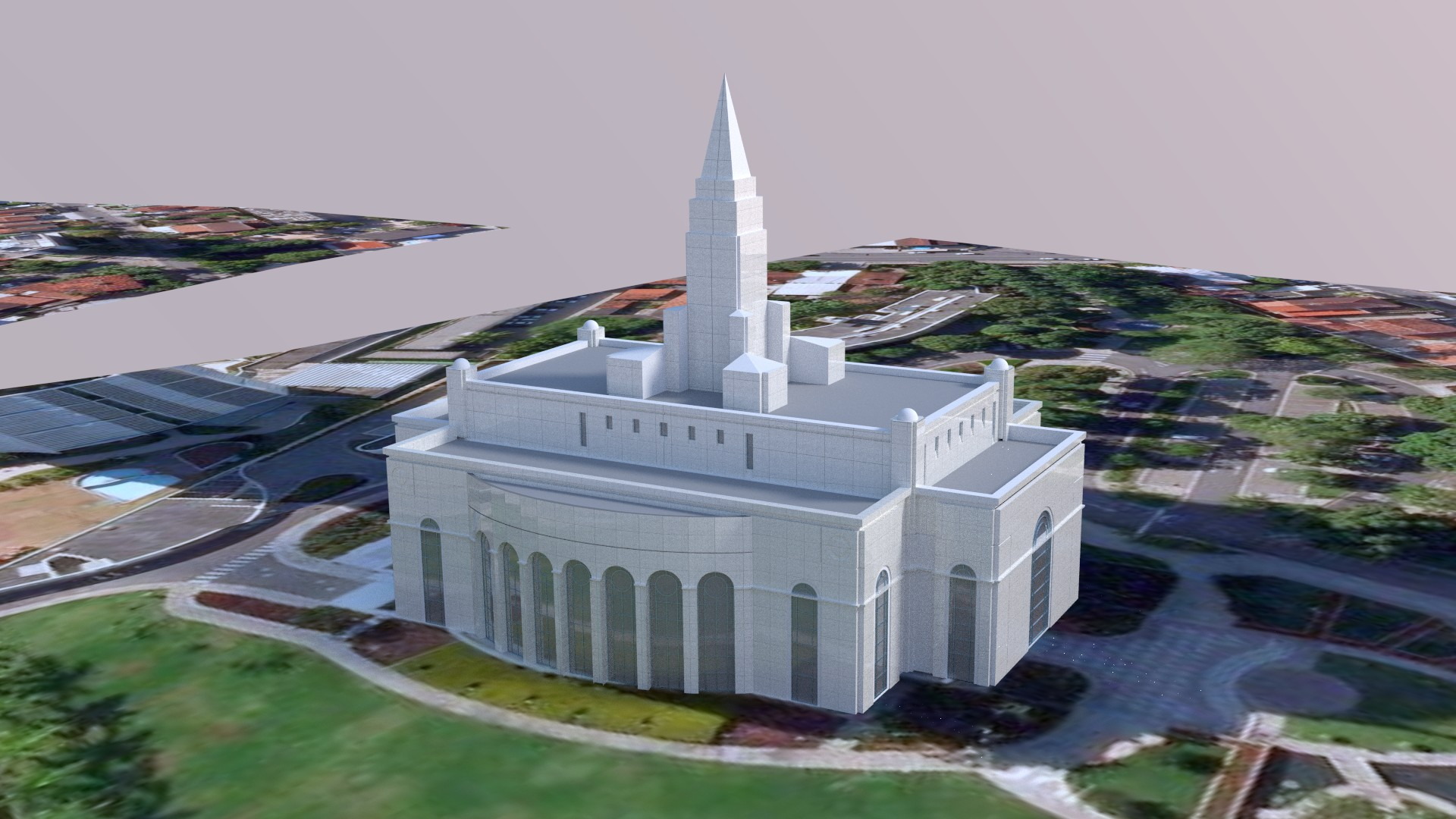 Recife Brazil Temple Early2