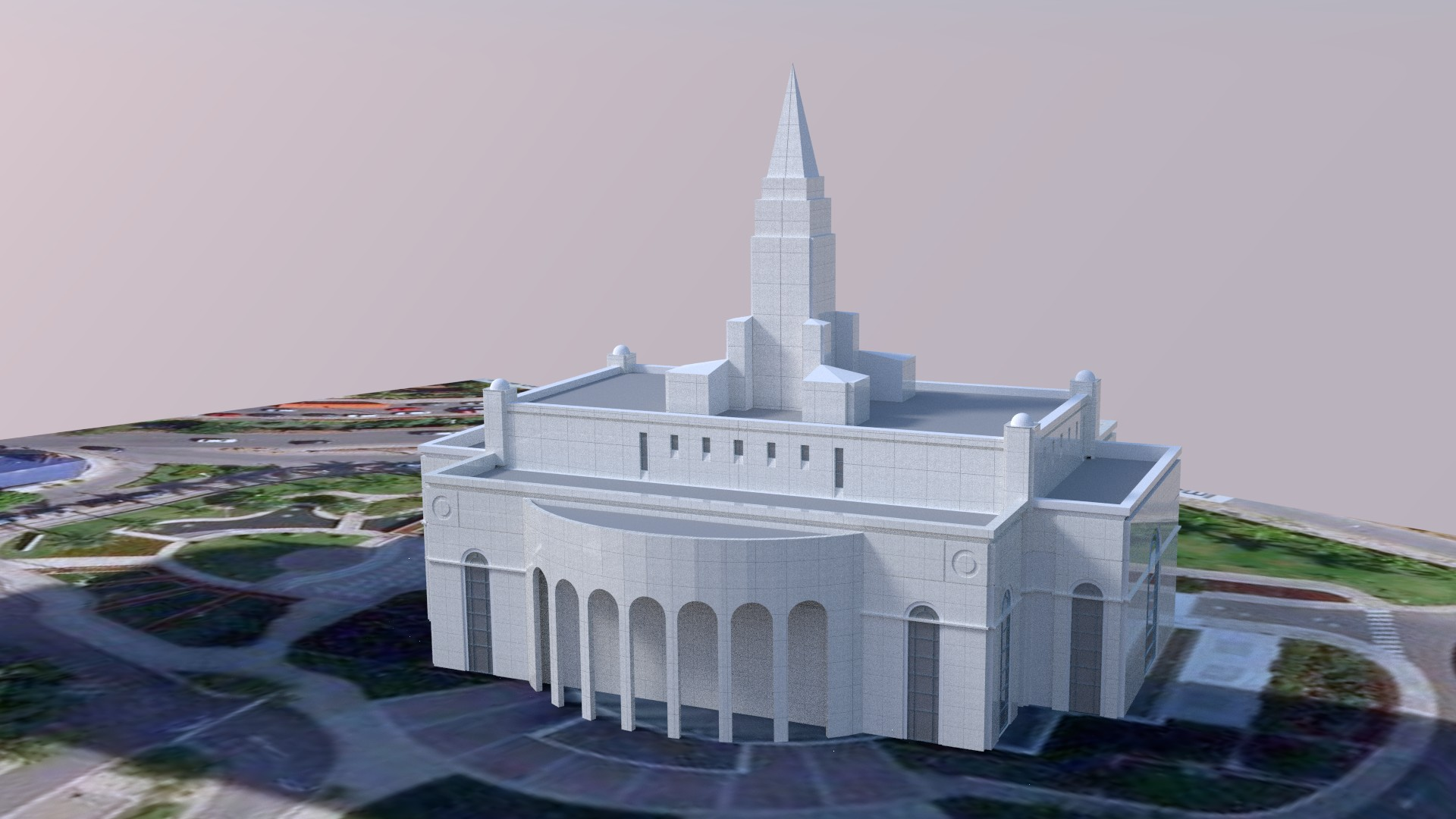 Recife Brazil Temple Early2a