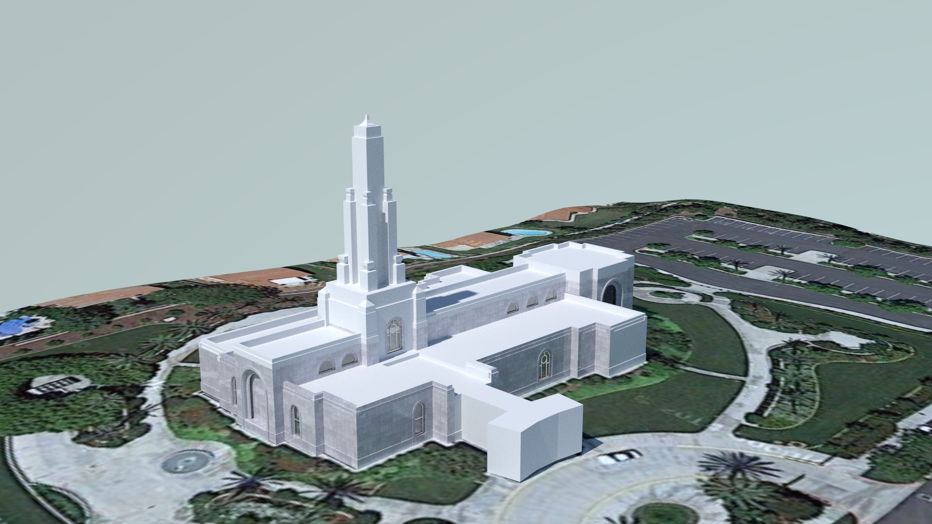 Redlands California Temple Early2
