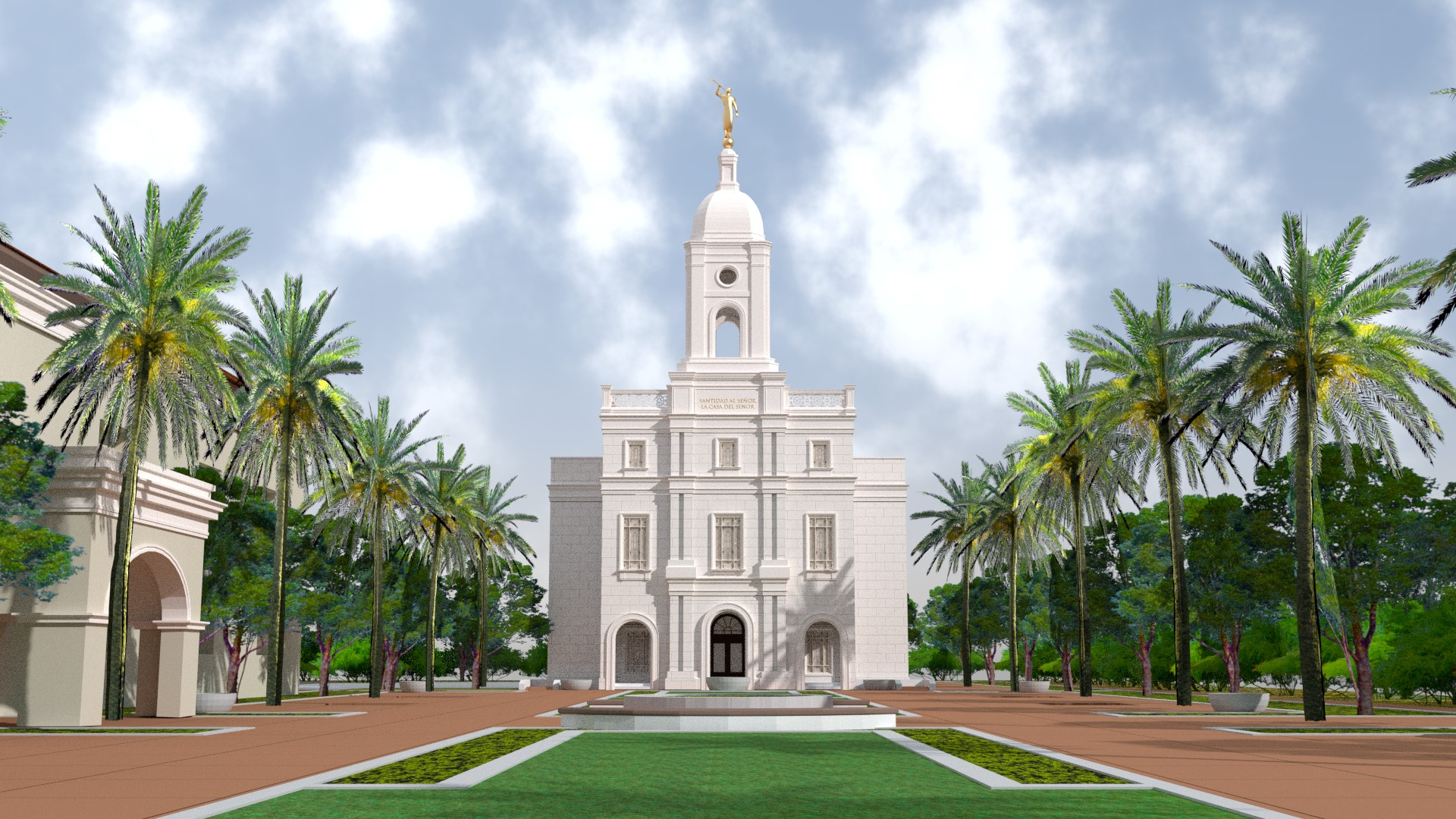 Barranquilla Colombia Temple Render