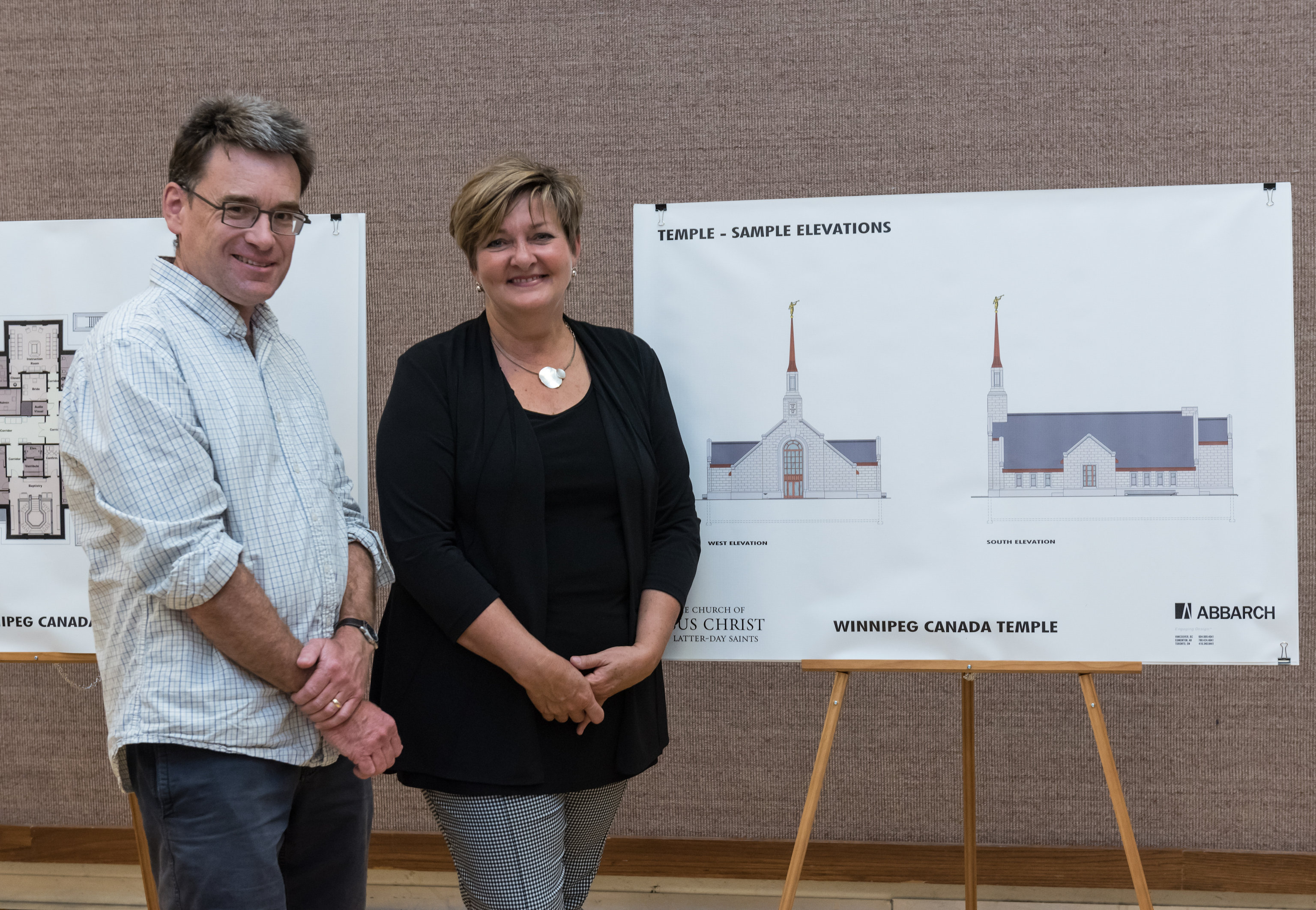 Winnipeg Manitoba Temple Elevations