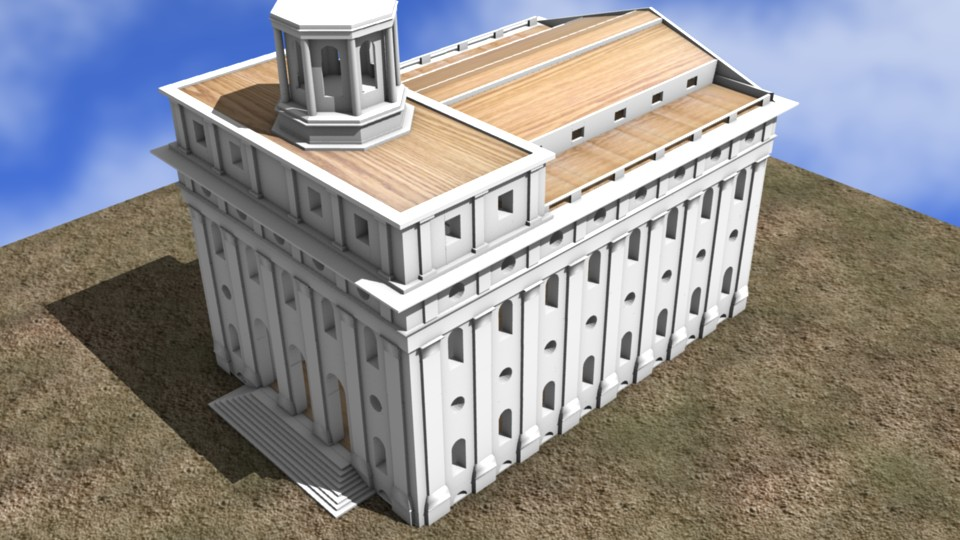 2005 Nauvoo Temple reconstruction attempt
