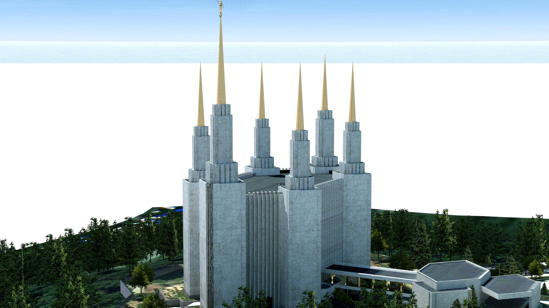 Washington D.C. Temple Image