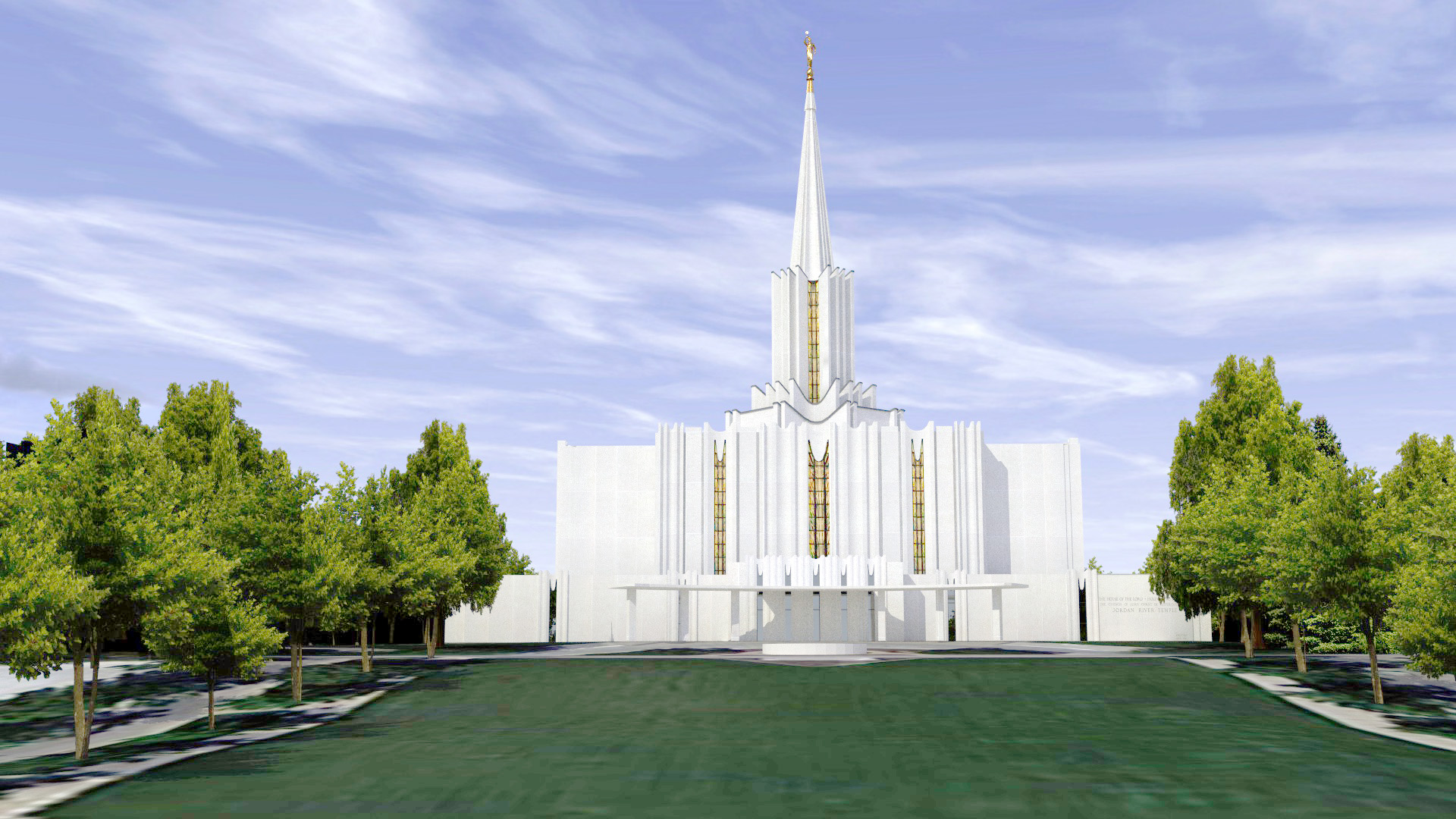 The Jordan River Utah Temple