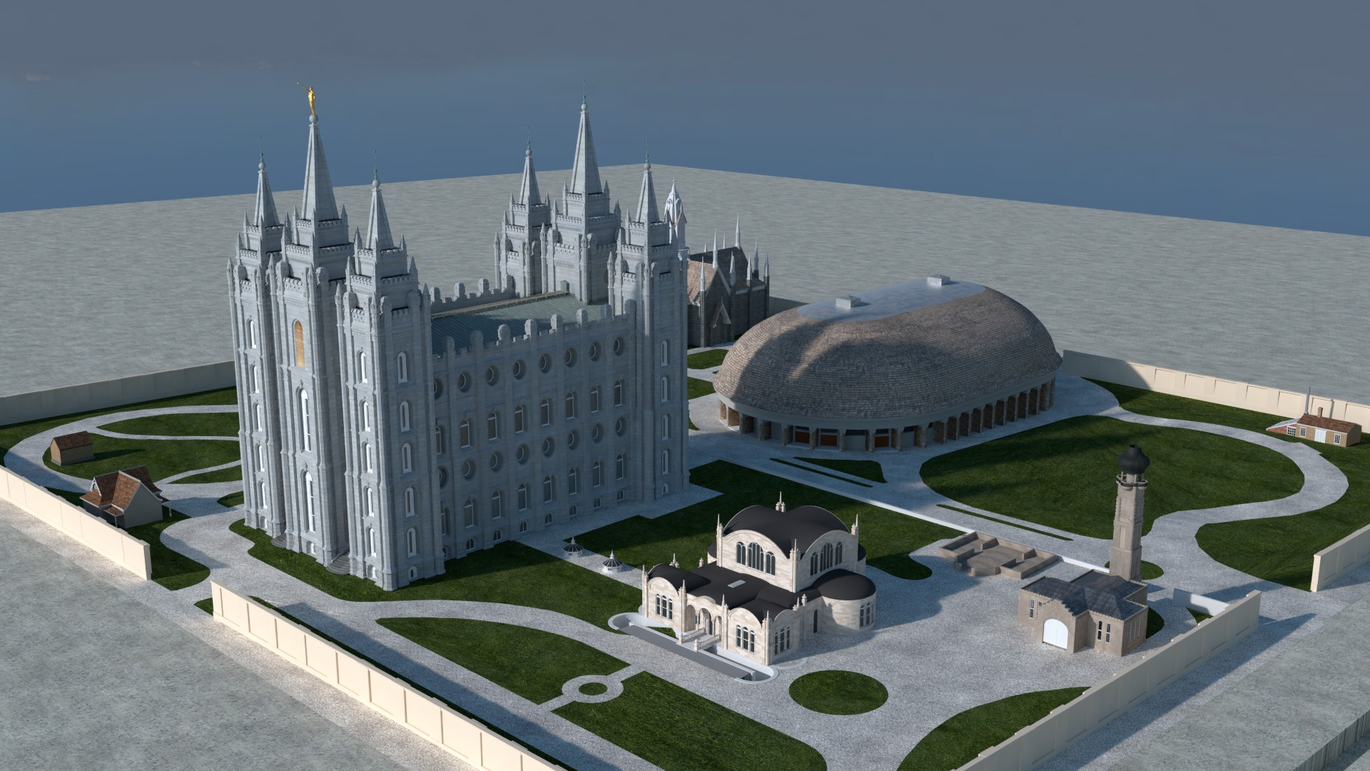 Salt Lake Temple image