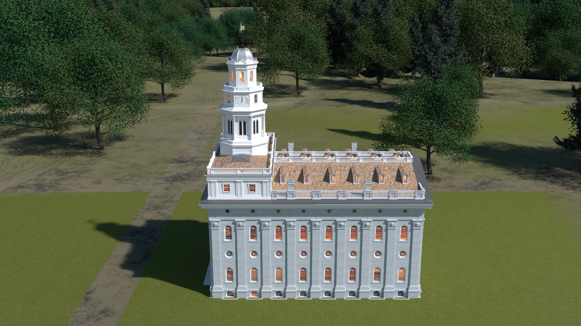 Nauvoo Illinois Temple 1846
